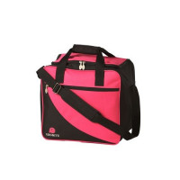 Ebonite Basic Roze/Zwart 1-ball Tas