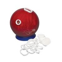 Bowling bal vullen en opnieuw boren