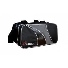 900 Global 2-Ball Tote Black/Silver