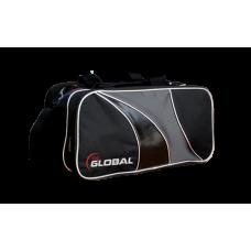900 Global 2-Ball Tote Black/Silver