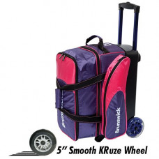 Brunswick Flash C Double Roller Purple